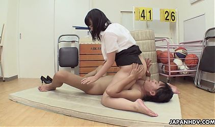 Japanese honey Michiru Ogawa had anal sex, uncensored