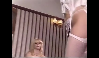 Buxom British babes strip and dance, upscaled to 4K