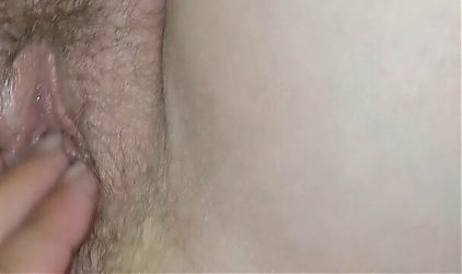 Fingering asshole and Pussy from my wife