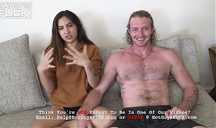 Veronicas Tight Pussy Can Barely Take All of Sages Cock!