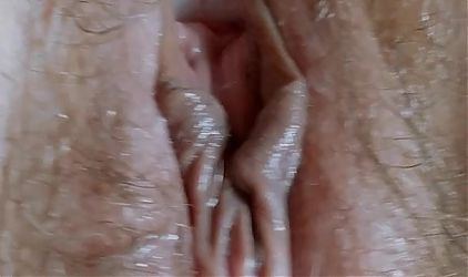Tiring, fingers in my pussy milf ,closeup